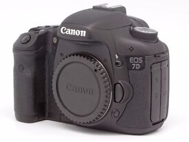 CANON 7D DIGITAL CAMERA (FOR THE KEEN ENTHUSIAST) PLUS ACCESSORIES