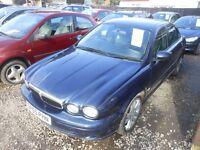 jaguar x type classic d 2005-05-plate, 2.0 turbo diesel, manual ,only 131,000 miles ,new mot