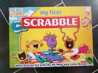 MR MEN - MY FIRST SCRABBLE