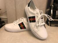 Gucci Men's & Women's White Shoes New Model