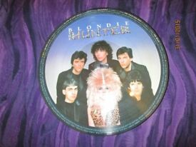 BLONDIE / DEBBIE HARRY THE HUNTER PICTURE DISC LP HAVE MORE BLONDIE FOR SALE