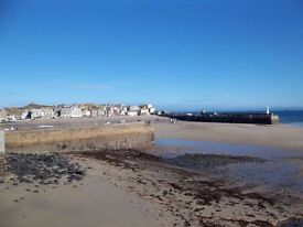 2 bedroomed flat to let St Ives Harbour Front Cornwall