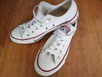 Converse all stars White UK size 4.5