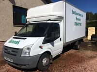 House removal services Dundee and Angus