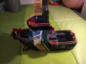 Spider-Man, Starwars figures & Imaginext Ocean Boat