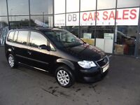 2007 07 VOLKSWAGEN TOURAN 1.6 S 5D 102 BHP***GAURANTEED FINANCE***PART EX WELCOME***