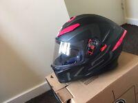 Ladies m/s motorbike helmet