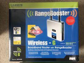 Linksys WRT54GR Broadband Router with Rangebooster
