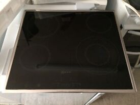 **NEFF**4 RING ELECTRIC HOB**TOUCH CONTROL**£99**COLLECTION\DELIVERY**NO OFFERS**STAINLESS STEEL**