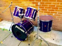 PREMIER Drum kit xpk Made in England