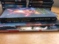 STAR WARS BOOKS AND COMICS