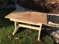 Restored Ercol extending kitchen or dining room wooden table (shabby shic, vintage, retro)