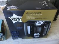 Brand new Tommee Tippee Perfect Prep Machine Unopened in Box with 6 new Tommee tippee bottlss