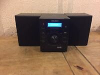 Bush NE-8601 10W DAB CD Micro Hi-Fi system