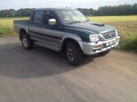 Mitsubishi l200 £1500