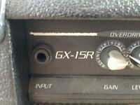 Crate GX-15R amp in excellent condition