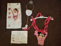 Munchkin Disney Minnie Mouse Door Bouncer - Great Condition. Comes With Box + Instructions.