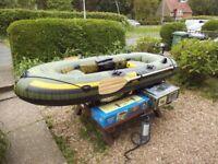Sevylor Hf 280 Fish Hunter Inflatable Boat