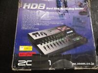 Zoom HD6 Multitrack Recorder with CD Burner