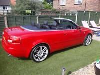 Audi a4 convertable 2003
