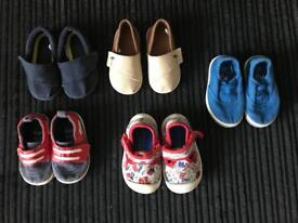 Baby boy size 3 infant shoes