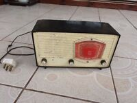 VINTAGE PHILIPS B3G85U 1958 VALVE RADIO 1958