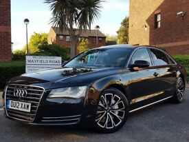 2012 AUDI A8 3.0 TDI QUATTRO LWB EXECUTIVE FULLY LOADED SPEC IMMACULATE IN/OUT