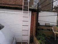 ALI LADDER FREE STANDING 11 foot 8 inch tall 13 runs very good condition £35 ovno