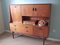G-Plan sideboard / Cocktail cabinet 1970's retro