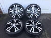 "17"" Dynamic 4x100 & 4x108 Alloy Wheels"