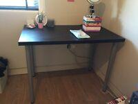 Black IKEA desk for sale £10