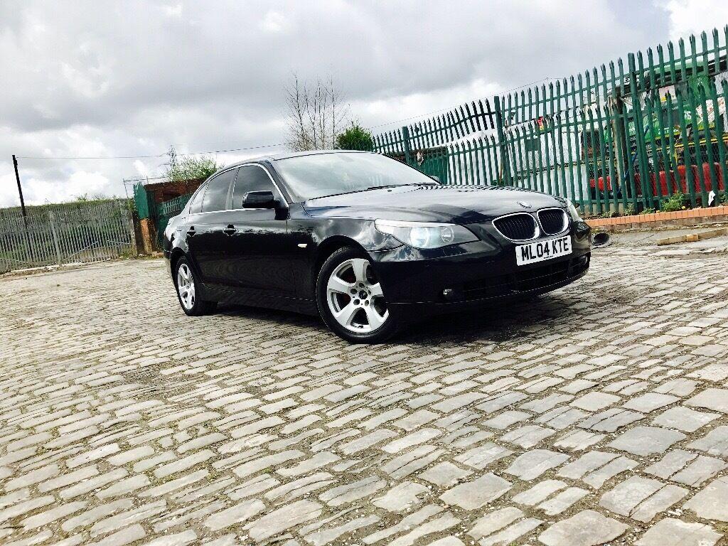 BMW 525d e60 04 automatic 6 speed mint mint mint car with genuine ...
