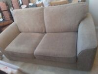2 seater Sofa Bed and single arm chair -condition Good
