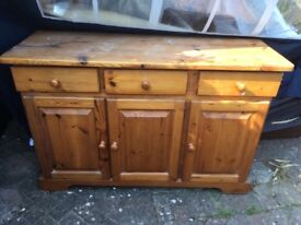 Pine cabinet/dresser - perfect for upcycling