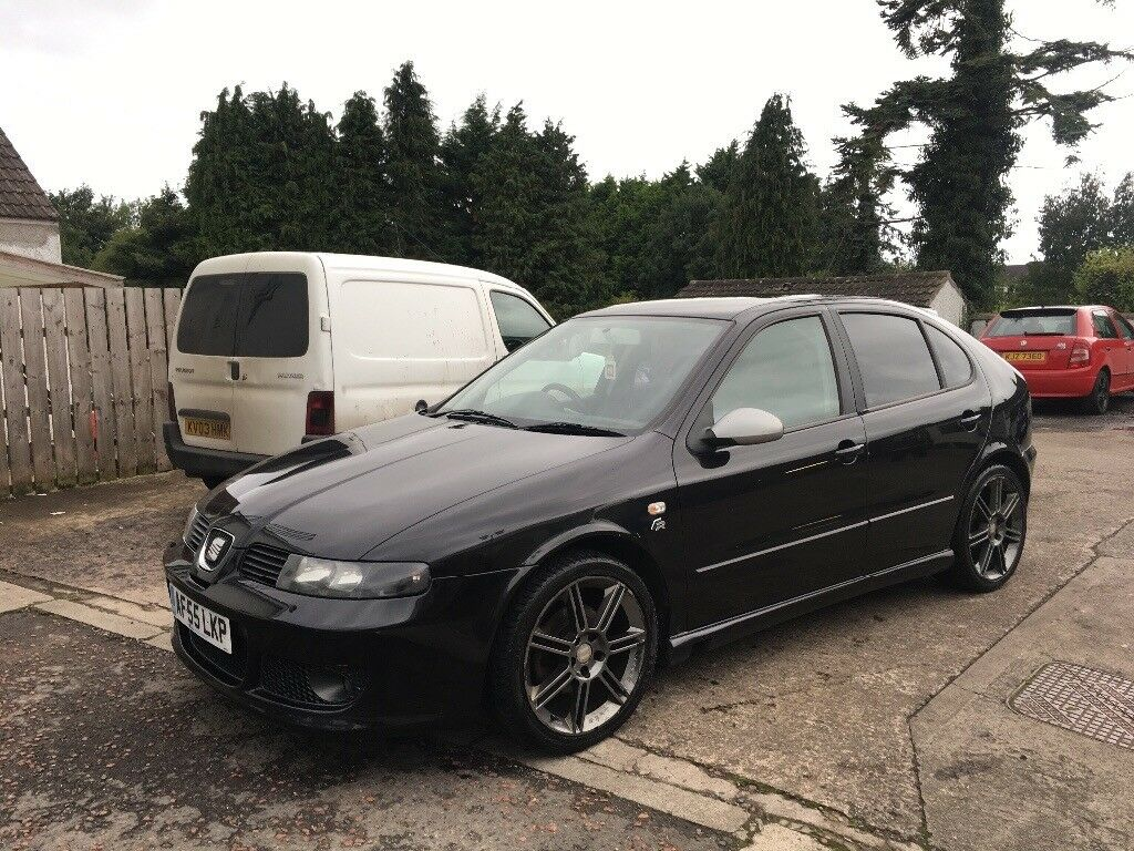 2005 seat leon 1 9 tdi fr 150 not golf a3 a4 passat. Black Bedroom Furniture Sets. Home Design Ideas