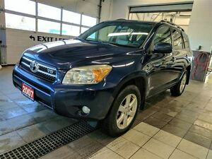 2007 Toyota RAV4 Limited V6 AWD - NEW TIRES - No Accidents!