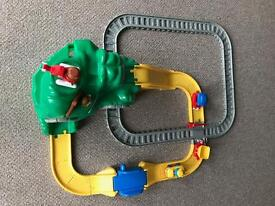 Little tikes road and rail track