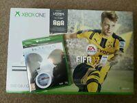 Xbox one plus fifa 17 sealed