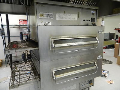 MIDDLEBY MARSHALL PSWB 360'S DOUBLE OVENS, BOX HOOD, FAN, MAU AND FIRE SUPPR
