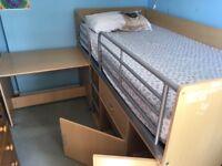 Cabin storage bed