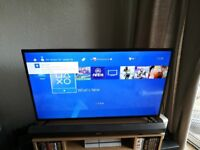 Ps4 white 500gb with 1 black pad all leads and call of duty ghosts