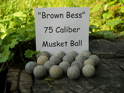 Rare Vintage Antique Revolutionary War Relic 75 Caliber Brown Bess 1 Musket Ball
