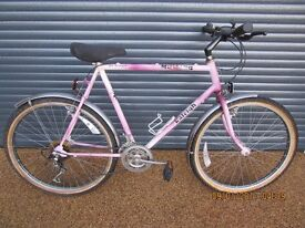 "MENS LARGE FRAME RALEIGH BIKE EXCELLENT CONDITION IDEAL COMMUTOR BIKE.. (23"" / 58cm. FRAME).."