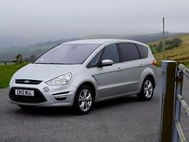 2012 Ford S-Max Titanium (Sport) 2.2 TDCi, 7 Seater, FSH, 6 Speed, Bluetooth, Climate, Cruise, Fa..
