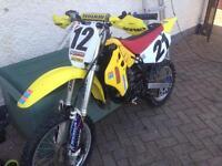 Suzuki rm80 2001 running project!