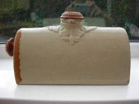 vintage ceramic bed warmer
