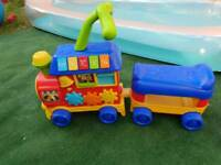 Ride along toy train
