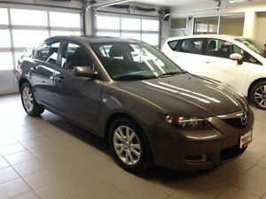 2008 Mazda MAZDA3 GS/LOCAL TRADE/LOW LOW LOW KMS!!!