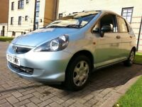 ★ FULL HONDA SERVICE HIST ★ ONLY 46,000 MLS ★ FULL YEARS MOT ★ JUNE 2007 HONDA JAZZ 1.2 S 5dr ★