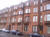 TO LET, GROUND FLOOR 2 BEDROOM FLAT AT DUMBARTON ROAD, £450.00 PCM UN-FURNISHED